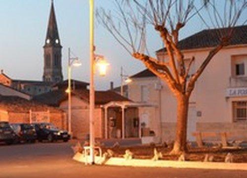 Un départ d'automne du village de Braud et Saint Louis